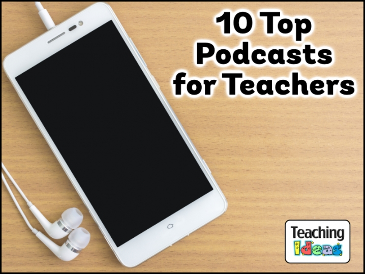 10podcastsforteachers