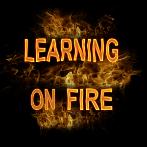 LEARNING ON FIRE sq 3000px black bkgnd